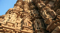 Private Tour: Full-Day City Tour with Yoga and Kandariya Dance Show from Khajuraho