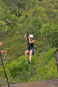Rocky Mountain Zipline Adventure from Denver