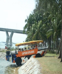 Singapore Duck Tour: Captain Explorer DUKW®