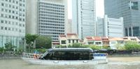 Singapore  Hop-On Hop-Off  Pass: Open-Top Bus and Bubble Jet Boat