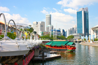 Singapore Hop-On Hop-Off Pass with River Bumboat Cruise
