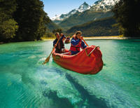 Dart River 'Funyak' Canoe and Jet Boat Tour from Queenstown, Queenstown Water Activities