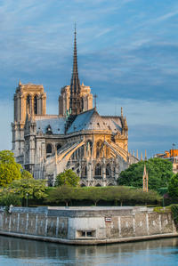 Paris electric boat seine river cruise medieval architecture then and