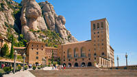 Barcelona and Montserrat Tour with Skip-the-Line Park Gell Entry and Hotel or Port Pickup