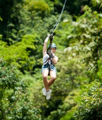 Picture of Puntarenas Shore Excursion: Waterfall Canopy Zipline Tour in Guanacaste