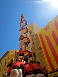 Catalan Culture Tour from Barcelona: Food Market, Montblanc and Human Tower Festival