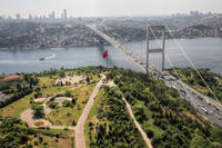 Bosphorus Full-Day Sightseeing Tour: Golden Horn and Bosphorus Cruise, Spice Bazaar, Camlica Hill and Dolmabahce Palace
