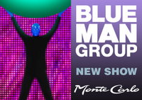 Blue Man Group im Monte Carlo Resort und Casino