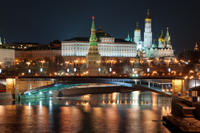 Moscow at Night: Small-Group Walking Tour with Annushka Tram