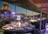 Bateaux Parisiens Seine River Christmas Cruise with 5-Course Dinner
