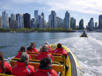 Downtown Vancouver Sightseeing Cruise in a Zodiac Vessel