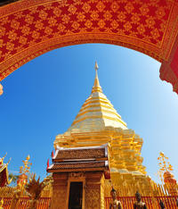 3-Night Chiang Mai Tour: Mountain Bike, Wat Doi Suthep and Whitewater Rafting