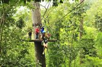 Private Tour: Cycling and Zipline Adventure from Chiang Mai Private Car Transfers