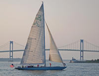 2 Hour Newport Harbor Sail Aboard Former America