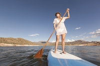 Stand Up Paddle Board in the British Virgin Islands