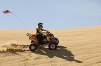 Dubai Desert Afternoon Quad Safari with Camel Ride, BBQ Dinner and Belly Dancing