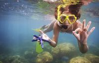 Cozumel Snorkel Tour from Cancun: Coral Reefs and Playa Mia Beach Park