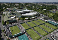 Wimbledon All England Tennis Club och Tennis museum
