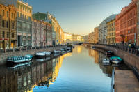 St Petersburg Shore Excursion: Private City Cruise and Church of the Savior on Spilled Blood Tour