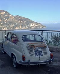 Private Tour: Amalfi Coast by Vintage Fiat 600 from Sorrento