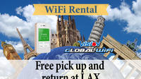 4G LTE Pocket WiFi Rental, Internet Connection in Europe pick up at LAX