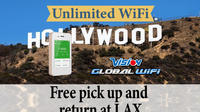 Unlimited WiFi In Hollywood USA, pick up at Los Angles Airport