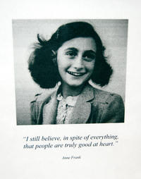 Trace the early life of Anne Frank