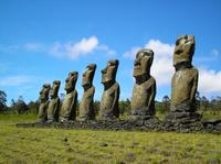 Easter Island Moai Archaeology Tour: Ahu Akivi, Ahu Vinapu and Puna Pau