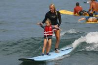 Small Group Surf Lesson on the Big Island