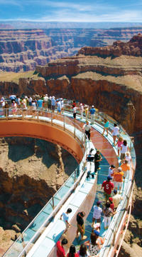 Grand Canyon West Rim Helicopter Flight with Skywalk Admission