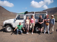 Excursion en jeep 4x4 à Lanzarote