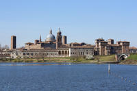 Day Trip by Train to UNESCO Site Mantua Including Mincio River Cruise