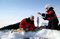 Lapland Ice Fishing Experience by Snowmobile from Rovaniemi