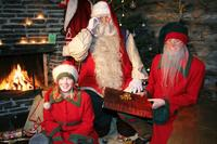 Summer Santa Claus Safari Including Riverboat Cruise and Reindeer Farm Visit from Rovaniemi