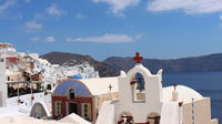 Sunset In Oia and Traditional Villages