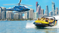 Jet Boat Ride and Helicopter Flight from the Gold Coast