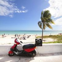 Freeport Scooter Tour and Crystal Beach Admission image 1
