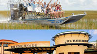 Everglades and Outlet Shopping Full-Day Tour