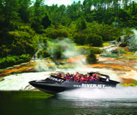 Rotorua Geothermal Wonders and Waikato River Jet Boat Ride, Rotorua Natural Activities & Attractions