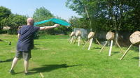 Knife and Tomahawk throwing session in Blackpool