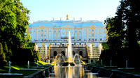 5-Hour Semi-Private Peterhof Grand Palace and Park VIP Admission Tour from St. Petersburg