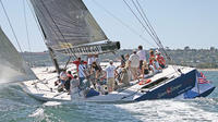 Sail Stars and Stripes America's Cup Racing Yacht