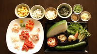 Local Market Tour and Japanese Cooking Lesson in a Luxury Apartment in Tokyo