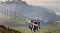 Mt Stanserhorn Day Photo Tour Worlds First Convertible Style Cable Car