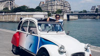 Paris Private Tour: Romantic Tour in a 2CV