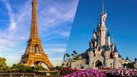 Eiffel Tower Summit Priority Access with Host and Disneyland Paris Ticket