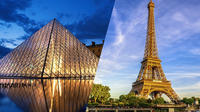 Skip-the-Line Admission Tickets : Eiffel Tower Summit and Louvre