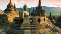 Yogyakarta Morning Tour: Sunrise Over Borobudur Temple, Cycling in Villages with Lunch