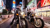Private Motorcycle Sightseeing Tour of  Uptown Manhattan