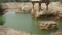 Private Amman Airport Layover Tour: The Baptism Site and Jordan River Private Car Transfers